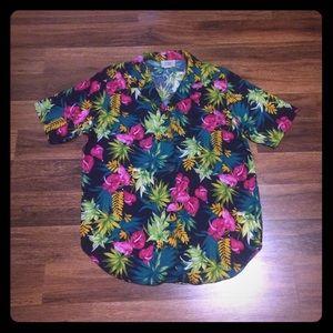 🦋 2/$10 3/$15 4/$18 5/$20Vintage Rayon Floral Top